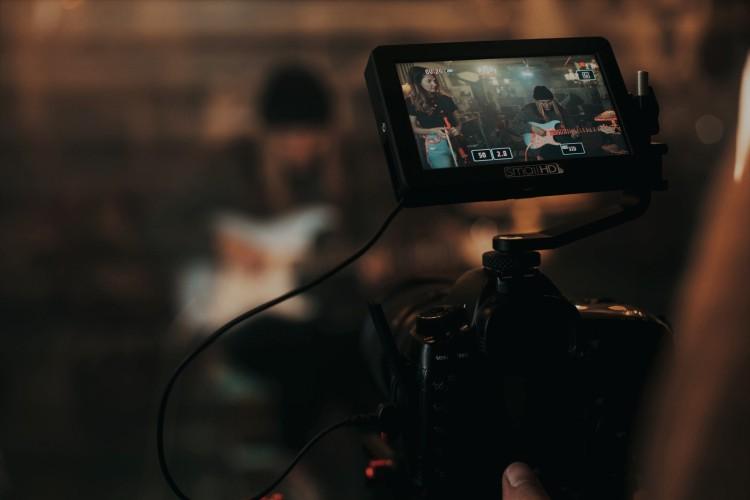 Music video photoshoot